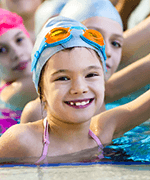 Primary school swimming