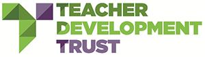 Teacher development trust logo
